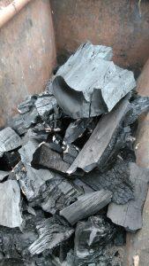 Древесный уголь для ресторана