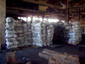 Хранение древесного угля Сумы
